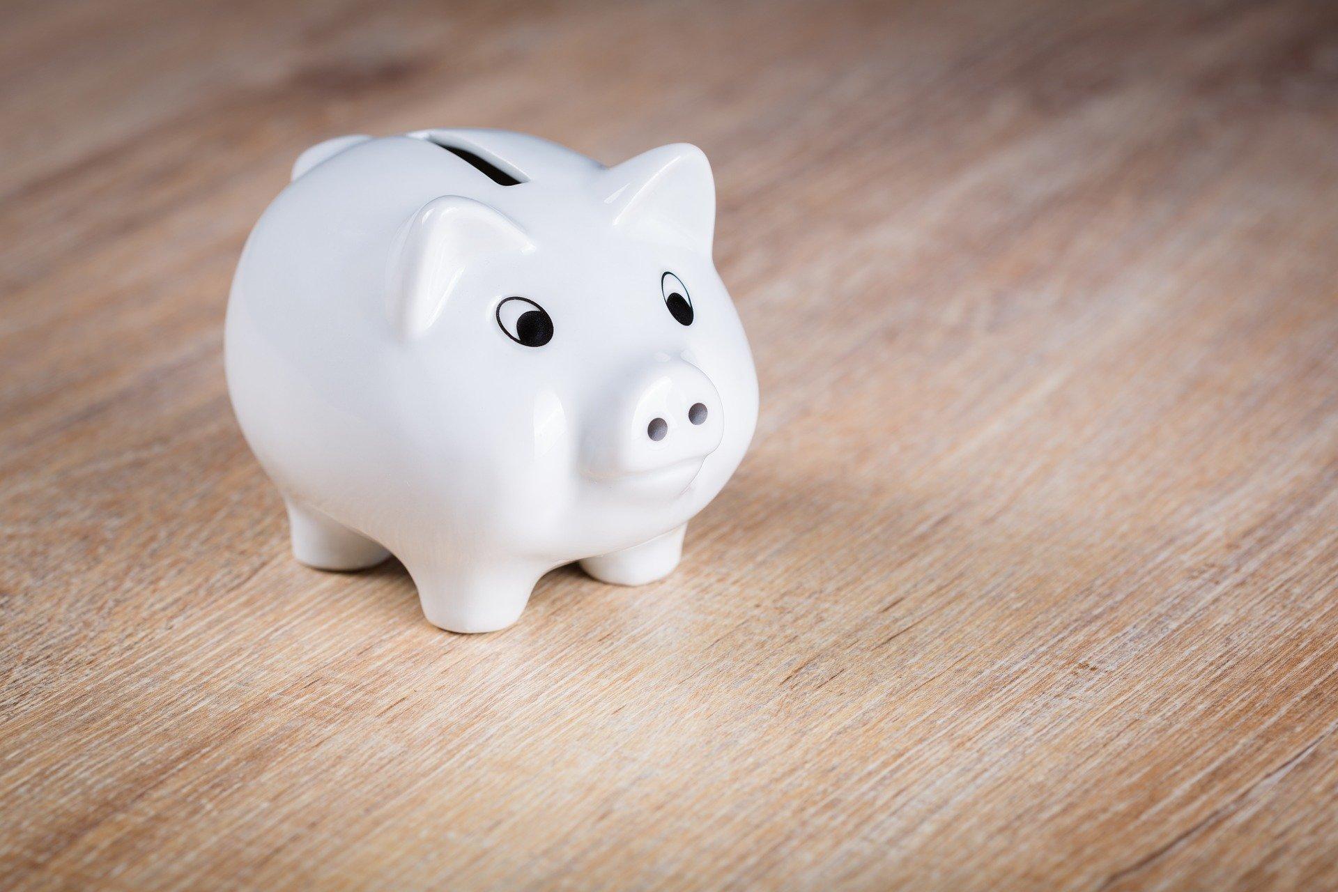 Sparen oder: Die Fünf-Euro-Sparkiste